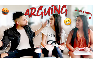 Arguing In Front Of Girlfriend's Mom