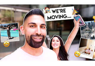 Dhar and Laura are moving vlog