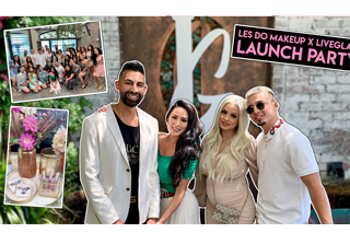 Les Do Makeup LiveGlam KissMe Love Collection Launch Party