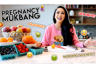 Pregnancy Mukbang Q&A - My First Trimester