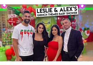 Leslie & Alex's Grinch Themed Baby Shower