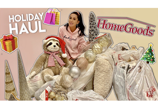 Dhar Mann and Laura G holiday haul vlog