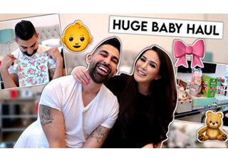 Dhar and Laura baby haul vlog