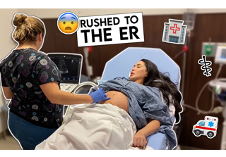 3rd Trimester Pregnancy Update | Rushed to Emergency 🚨