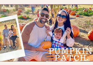 pumpkin patch vlog dhar and laura