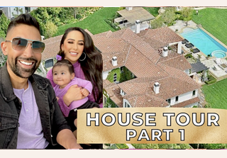 dhar and laura house tour vlog 1