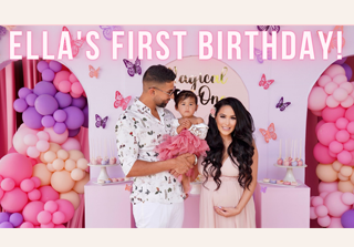 Baby Ella Rose's First Birthday Party