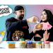 Dhar Mann and Laura G baby food challenge vlog